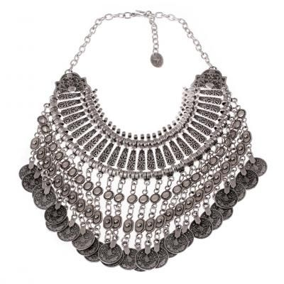 Treaty Jewellery Limited - Sahara Necklace - This statement style piece is something that has been selling and selling all year round.  Come to see our new pieces and wonder at the amazing piece that is Sahara necklace!  Stand C10  www.treatyjewellery.co.uk