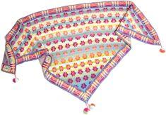 Stricken Schal  Maltesertuch - Pastellfarben  Schals mit stricken anleitung  Christel Seyfarth aus Dänemark