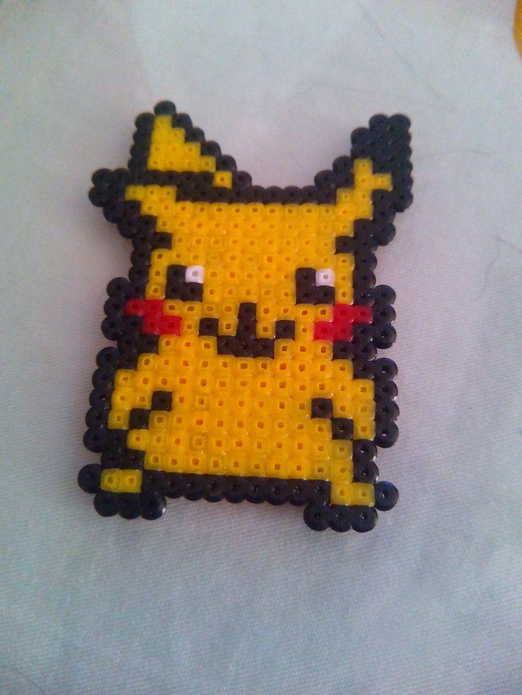 Pikachu. Hama Beads Mini.
