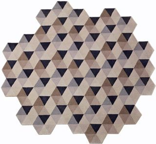 love the irregular shape   rug   Pinterest   Tibetan rugs ...
