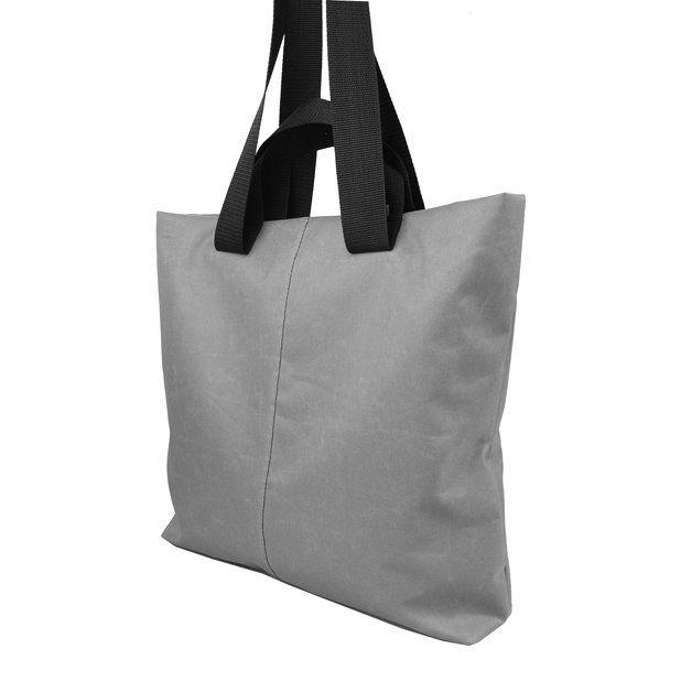 SHOPPER BAG 01 czarny zamek (sprzedawca: purol design), do kupienia w DecoBazaar.com #shopperbag #bag #handbag #szoperka