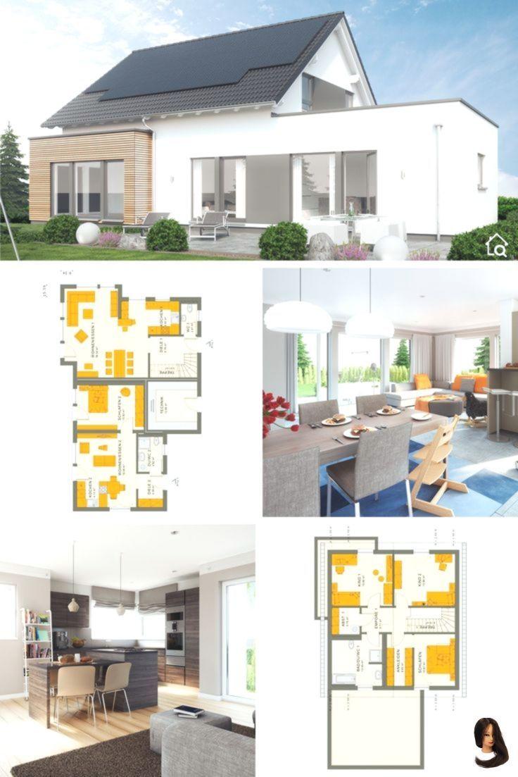 Modernes Haus Mit Einliegerwohnung Im Erdgeschoss Anbau Grundriss