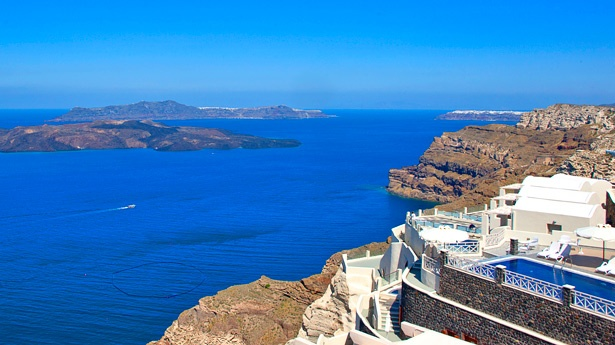 Petit Palace, Santorini, Greece