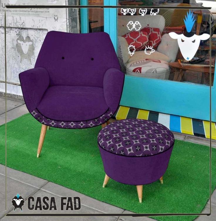 """Kit Comfort """"Malbec""""   Fabricados a nuevo a pedido. Colores y telas a eleccion. Consultanos a info@casafad.com"""