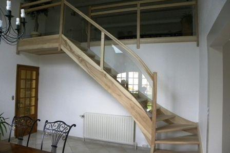 1000 id es sur le th me metal balusters sur pinterest terrasses balustrade - Escalier verre et metal ...