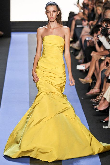 yes, you can wear a yellow dress!