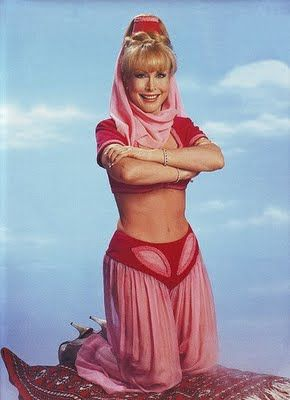 """I Dream of Jeannie- """"My Dad ate breakfast next to Barbara at Nixon's house in California (Dad was working at the White House at the time). He said she was a really nice lady- very classy."""""""
