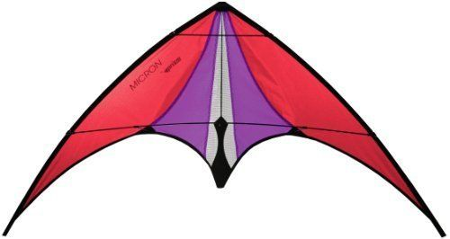 Prism Micron Stunt Kite by Prism Kite Technology. Prism Micron Stunt Kite, Red.