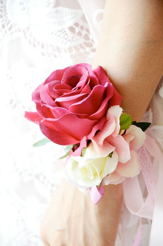 Silk Wedding Flowers Leicestershire : Images about corsage on prom