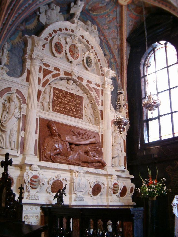 Nagrobek Stefana Batorego, Santi Gucci, 1594-95 (Kaplica Mariacka na Wawelu)