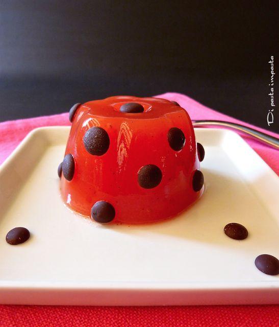 Di pasta impasta: Gelo di melone (gelatina di anguria) con agar agar...