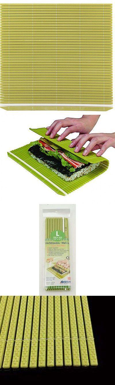 Bento Accessories 178050: Japanese 12 X 10 Large Hasegawa Super Hygienic Professional Plastic Makisu Mat -> BUY IT NOW ONLY: $62.74 on eBay!