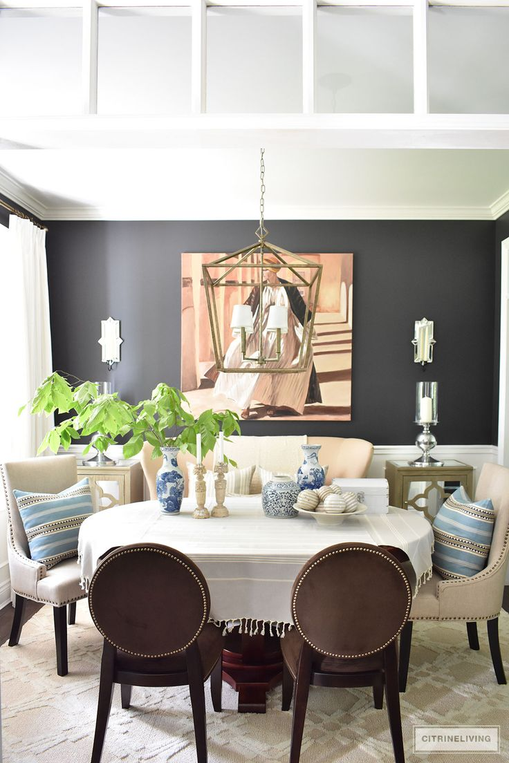 SHADES OF SUMMER HOME TOUR WITH BEAUTIFUL
