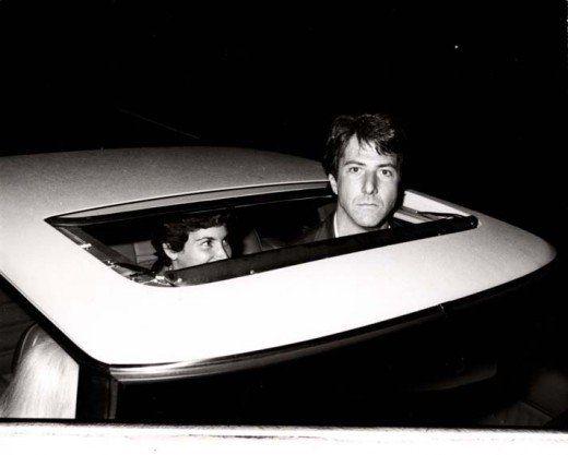 Dustin Hoffman by Ron Galella