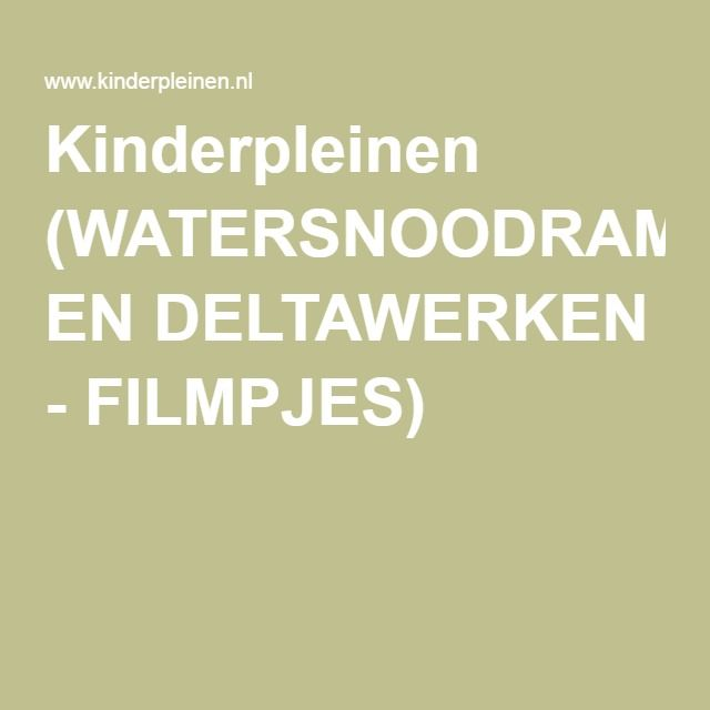 WATERSNOODRAMP EN DELTAWERKEN - FILMPJES