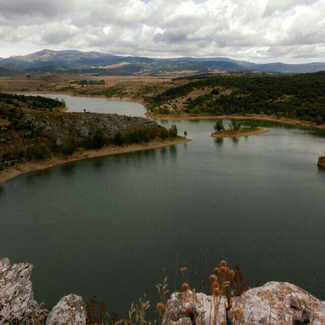 Pantano de Aguilar de Campoo,Palencia