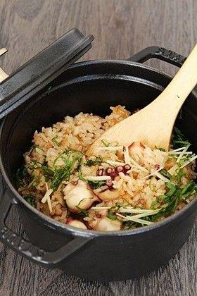 ストウブ料理「たこ飯」