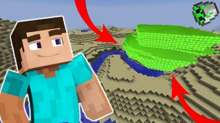 ✔️ Hogyan Pusztíts El Egy Minecraft Világot 1 PERC ALATT? ✔️