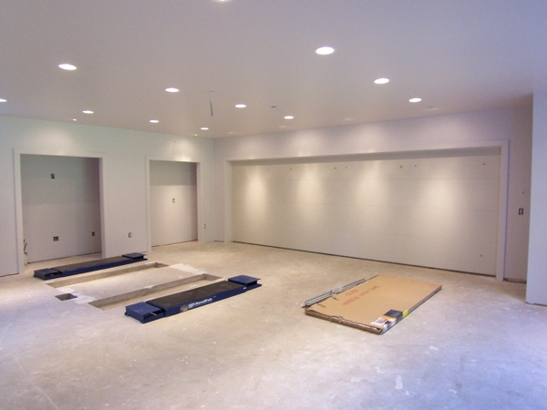before and after drywall, then painted garage walls Garage Pinterest Drywall, Garage walls ...