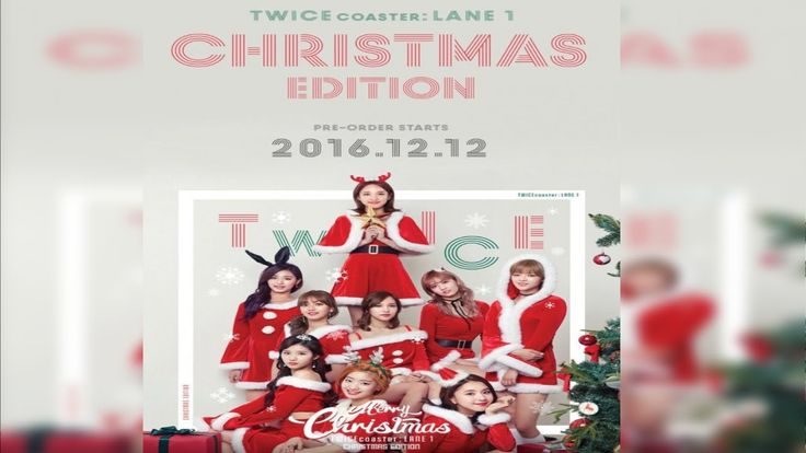 TWICE Teases For a Christmas Edition of 'TWICE coaster  Lane 1'