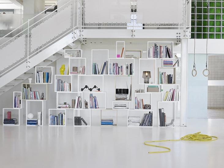 Stacked Hyllesystem : Rom til rom - Nettbutikk for møbler og interiør, Kvalitetsdesign til alle rom