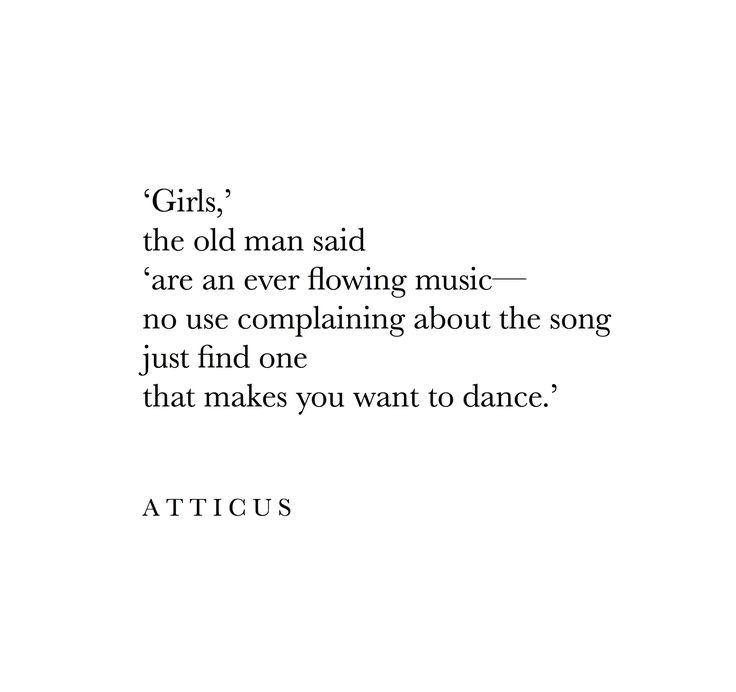 If she makes you want to dance