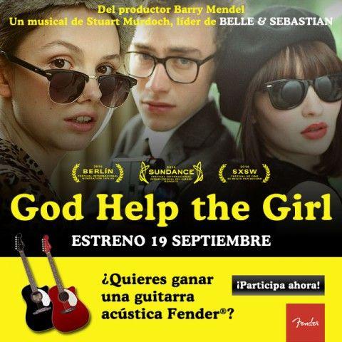 """Gana una guitarra acústica Fender gracias a la peli """"God Help The Girl"""""""