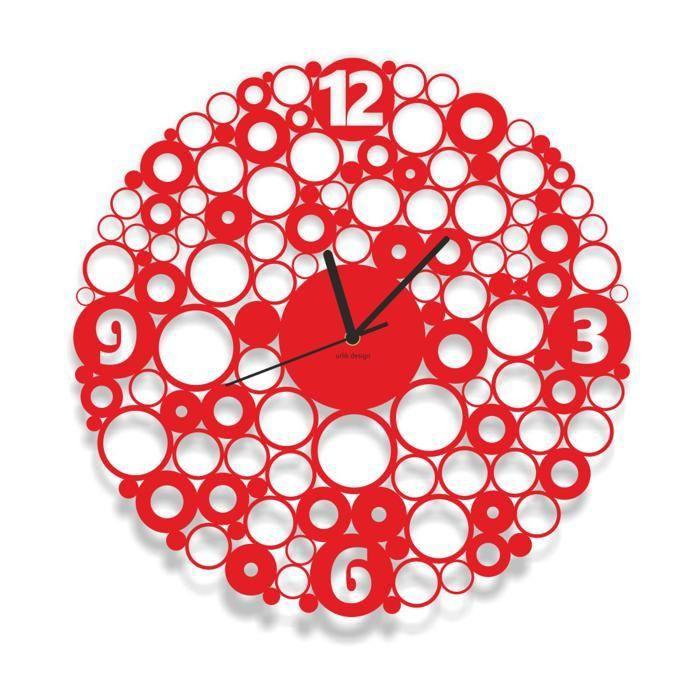 Dekoracyjny zegar ścienny Urlik Design Ring ◾ ◾ PrezentBox