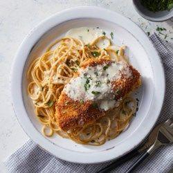 Creamy Lemon Chicken Parmesan - EatingWell.com