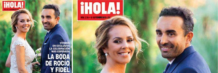 ¡HOLA! adelanta su edición por la boda de Rocío Carrasco y Fidel Albiac