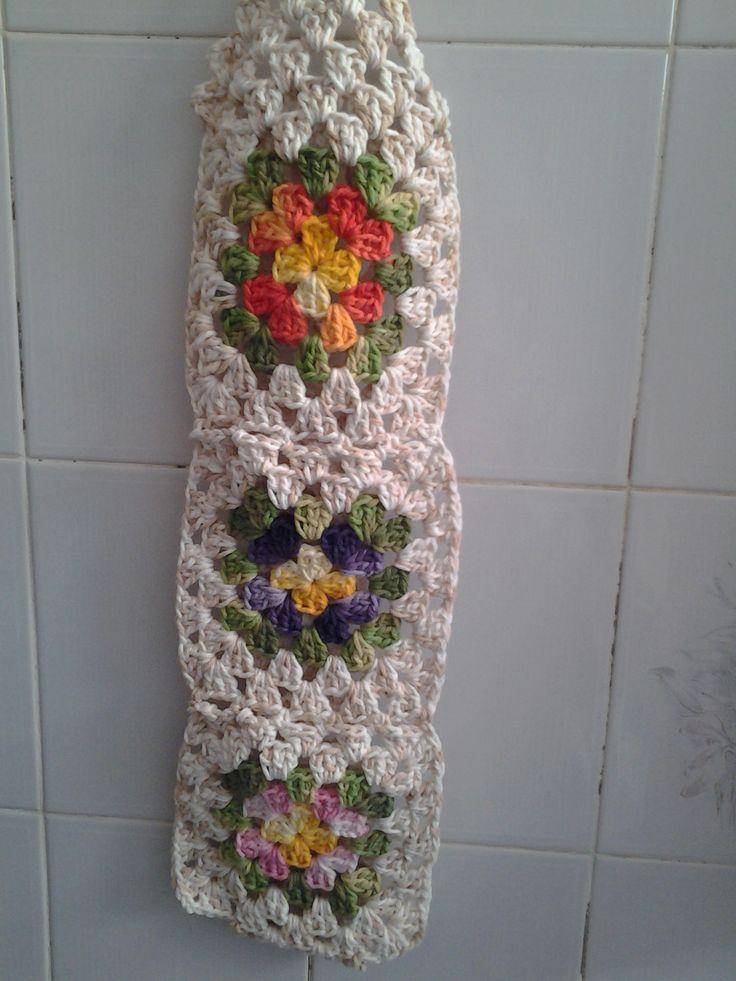 25 melhores ideias sobre porta papel de croche no for Colgadores para papel higienico