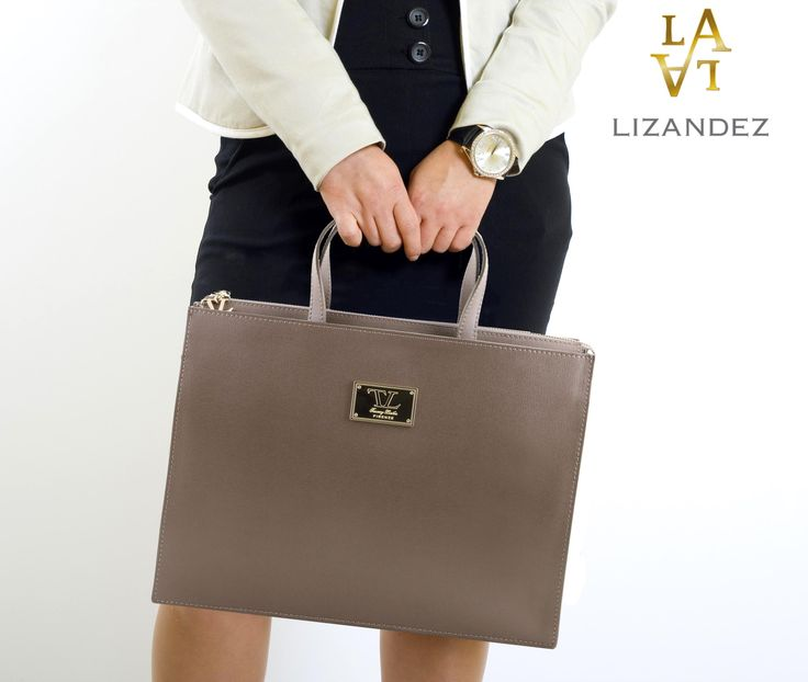"Professionalism, functionality, style & class comes together in this beautiful women""s Palermo leather briefcase"