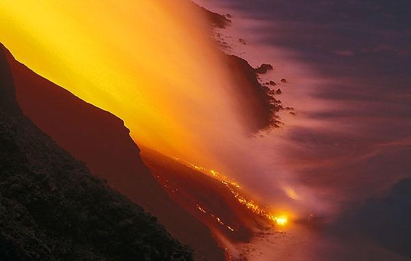 Stromboli - Sciara del Fuoco  Foto da Meteoweb