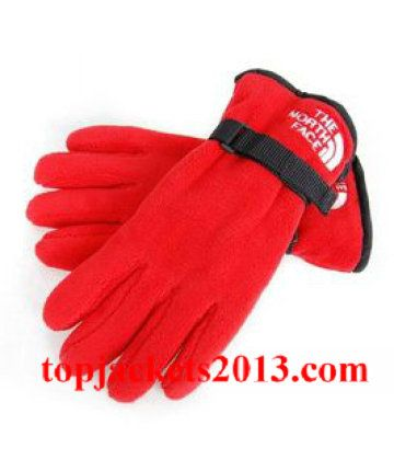 The North Face Outlet Mens Denali Fleece Glove Red