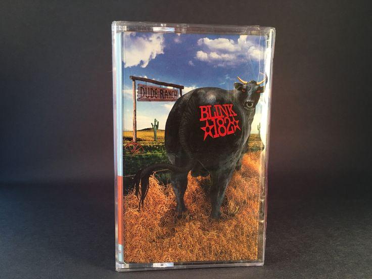 BLINK 182 - dude ranch - BRAND NEW SEALED CASSETTE (reissue) punk