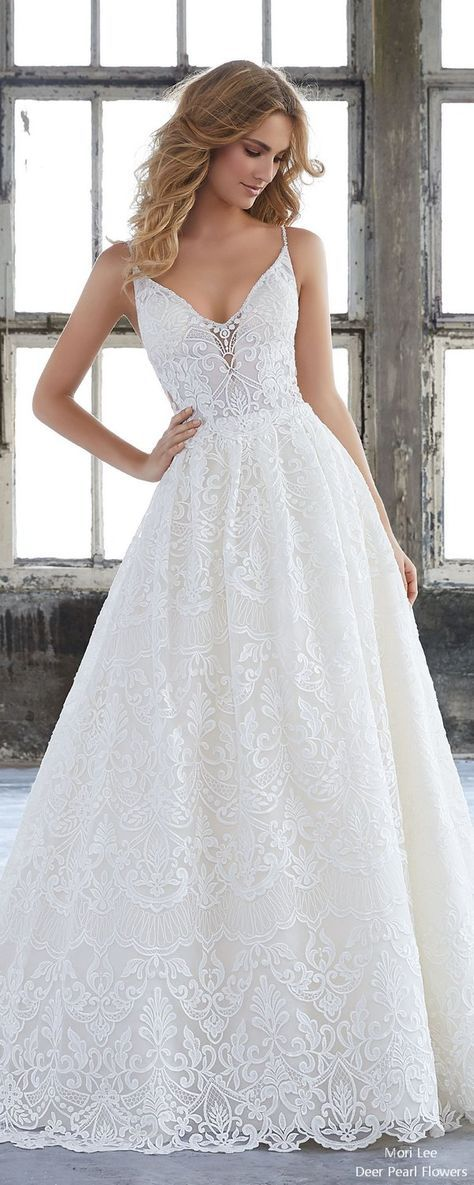 Mori Lee Fall Wedding Dresses 2018