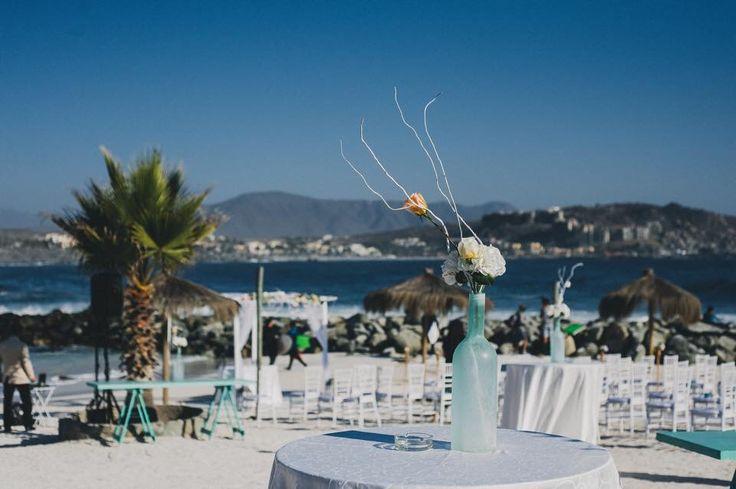 Deco boda en la playa, Totoralillo, Coquimbo.