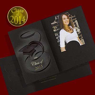 folding graduation invitations