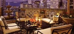 The Penthouse at the Fairmont, San Francisco. It's beyond beautiful. (see the pdf at the bottom of the page.)