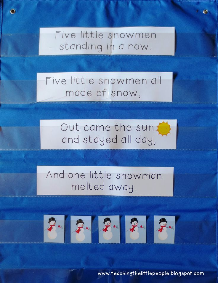 Making Interactive Pocket Chart Songs and Poems Easier to Use