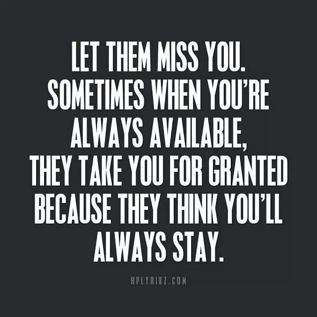 Missing Quotes : Make him miss you | Missing quotes, Quotes ...