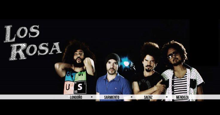 Los Rosa - Festival Centro 2016. La banda fue creada en 2010 cuando Carlos Mendoza, Cristian Sarmiento y Manolo Saenz se reúnen para plasmar un concepto ...