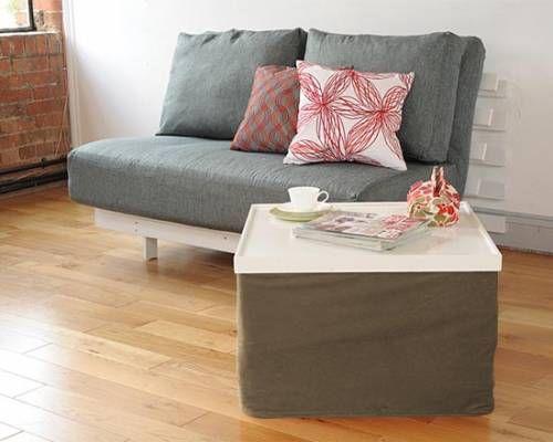 Sleepover Cube Bed Futon Company Futons Sofa Beds Storage Furniture Mattresses Designer House