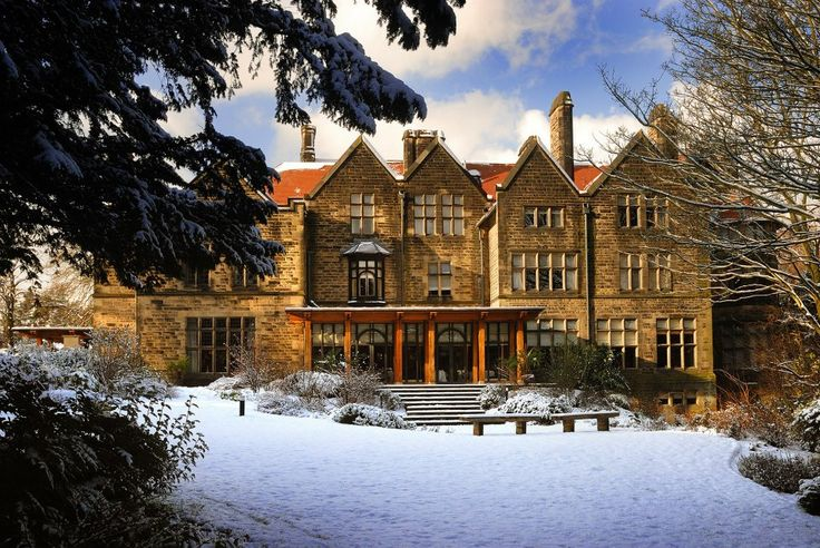 A wintery and majestic Jesmond Dene House.