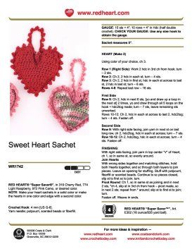 Free crochet heart patterns to get you ready for the upcoming holidays. This crochet heart is a wonderful gift for birthdays, Christmas, Valentines Day, anniversarys and such. Anytime you want to