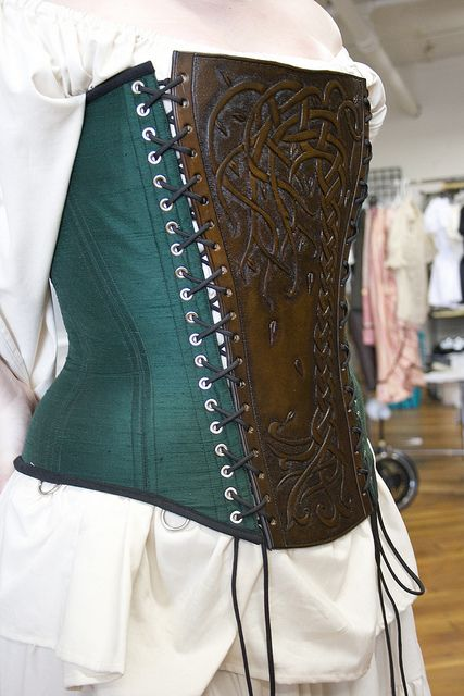 Oh, to be able to do that leather work.