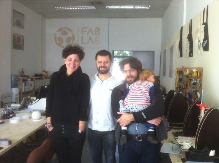 Sabina Barcucci di Muse FABLAB è qui!