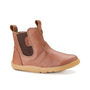 I-Walk by Bobux Outback Boot in Caramel Leather, Berry Styles Kids Shoes