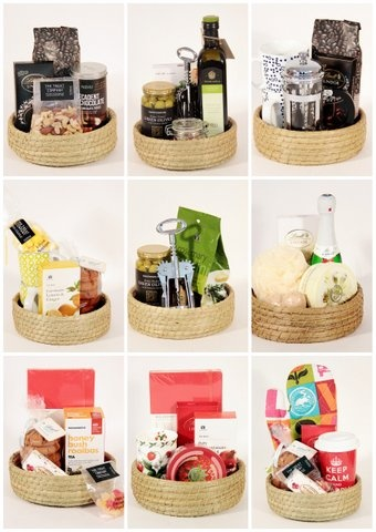 Food Hampers are practical and fun ... This is how we do it in STYLE