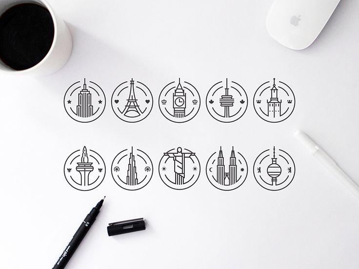 City Badges Series Update